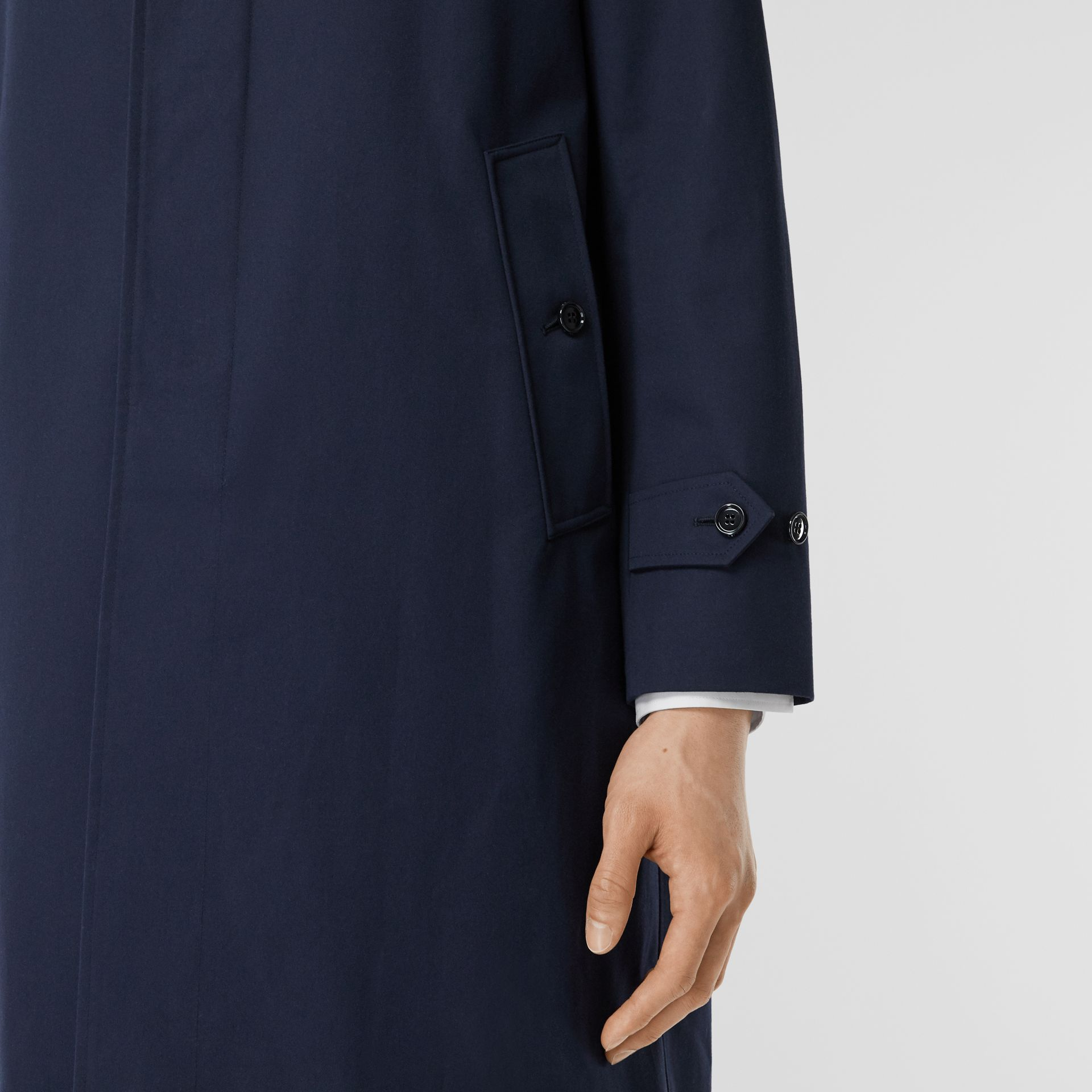 Cotton Gabardine Car Coat - Men | Burberry Singapore - gallery image 4