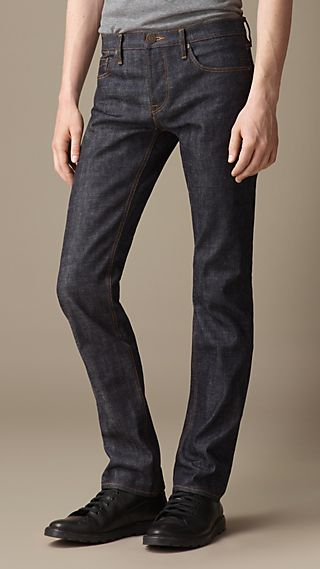 Steadman Raw Selvedge Slim Fit Jeans