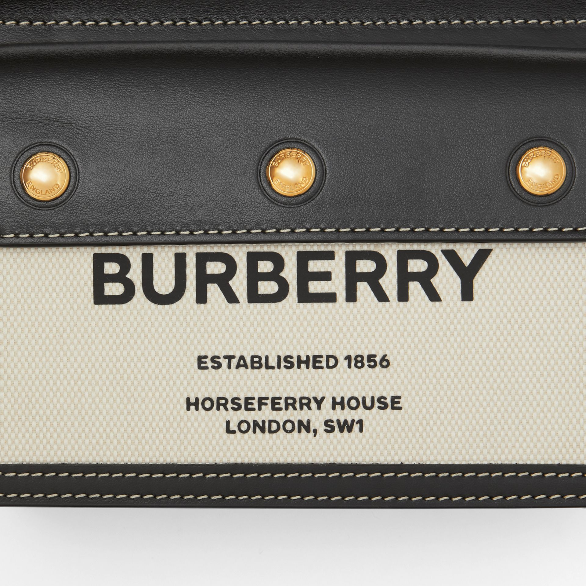 Mini Horseferry Print Title Bag with Pocket Detail - Women | Burberry United States - gallery image 1