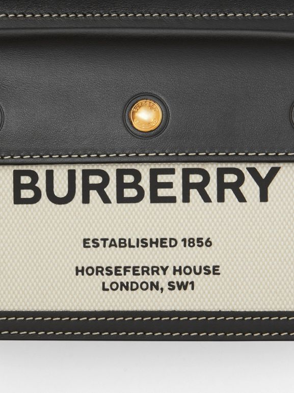 Mini Horseferry Print Title Bag with Pocket Detail - Women | Burberry United States - cell image 1