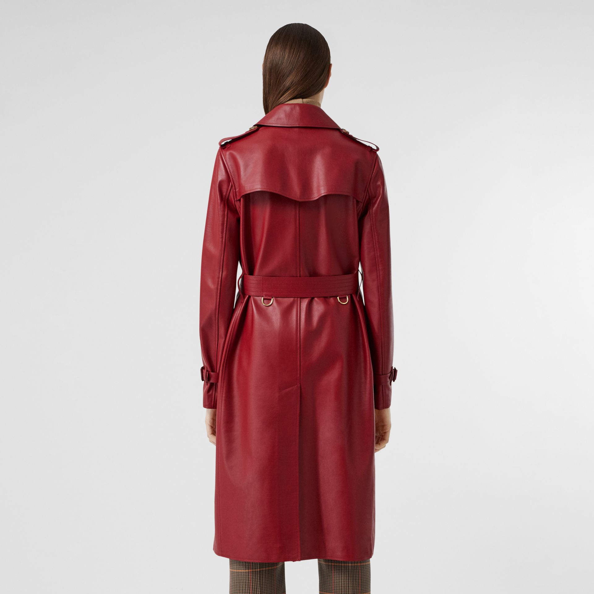 Leather Trench Coat - Women | Burberry - gallery image 2