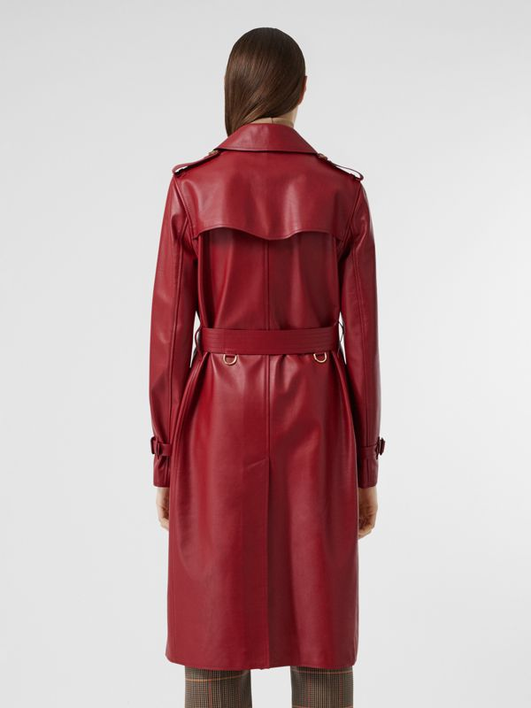 Leather Trench Coat - Women | Burberry - cell image 2
