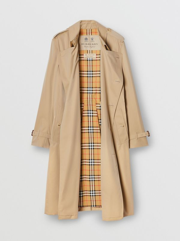 The Kensington - Trench coat Heritage longo (Mel) - Homens | Burberry - cell image 3