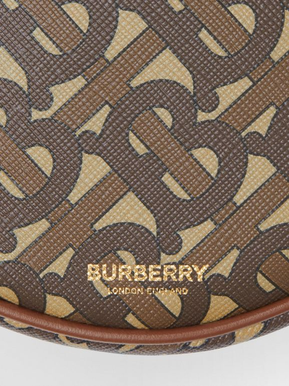 Monogram Print E-canvas Louise Bag in Bridle Brown - Women | Burberry United Kingdom - cell image 1