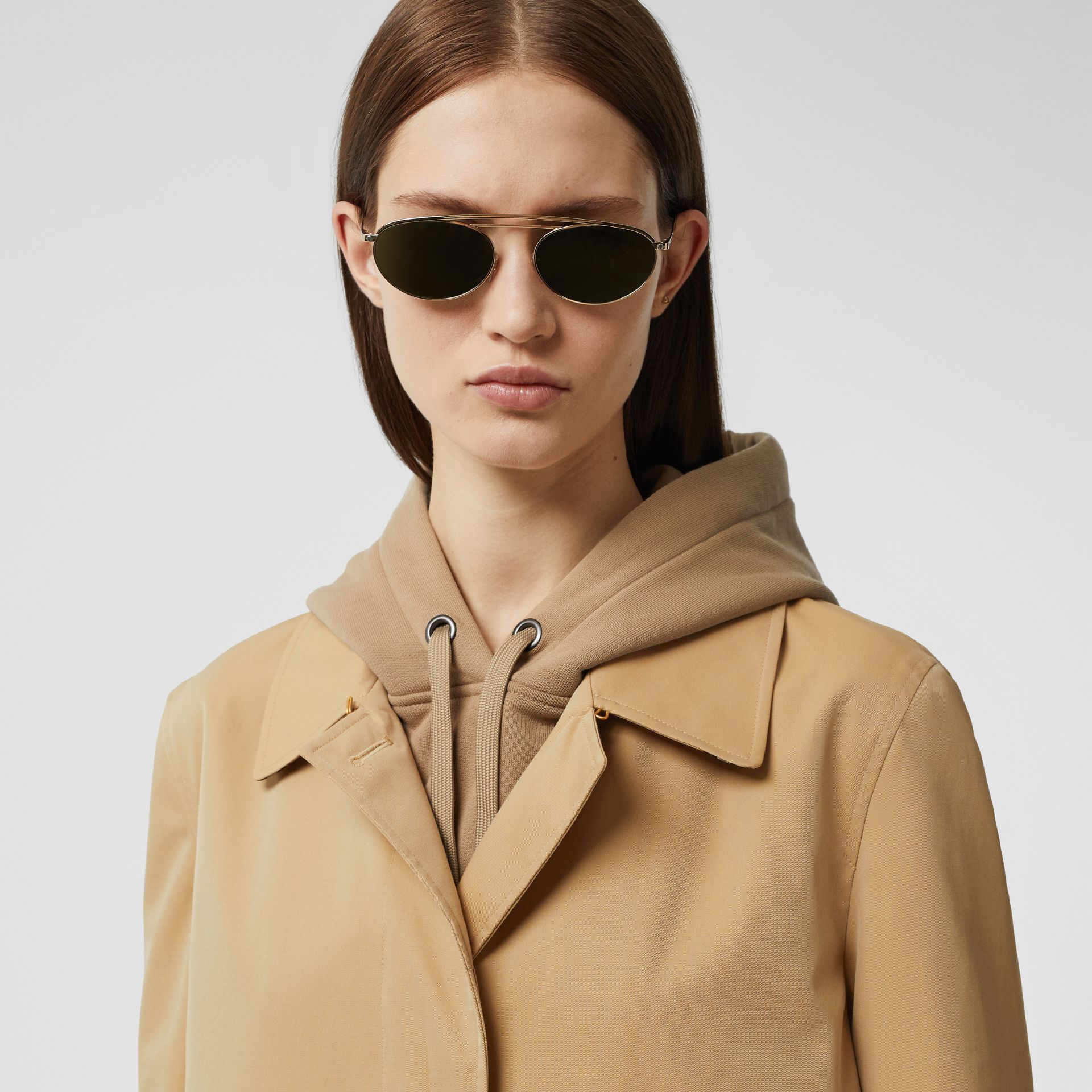 The Pimlico Heritage Car Coat in Honey - Women | Burberry - gallery image 1