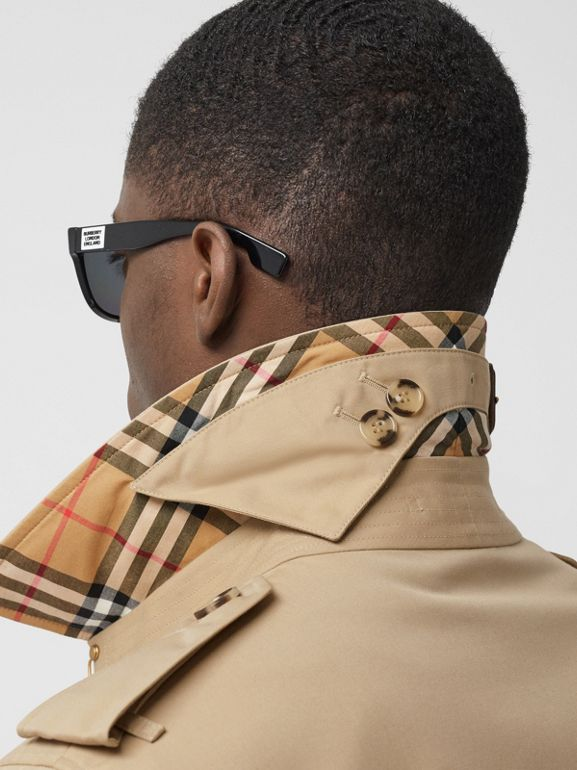 The Long Chelsea Heritage Trench Coat in Honey - Men | Burberry - cell image 1