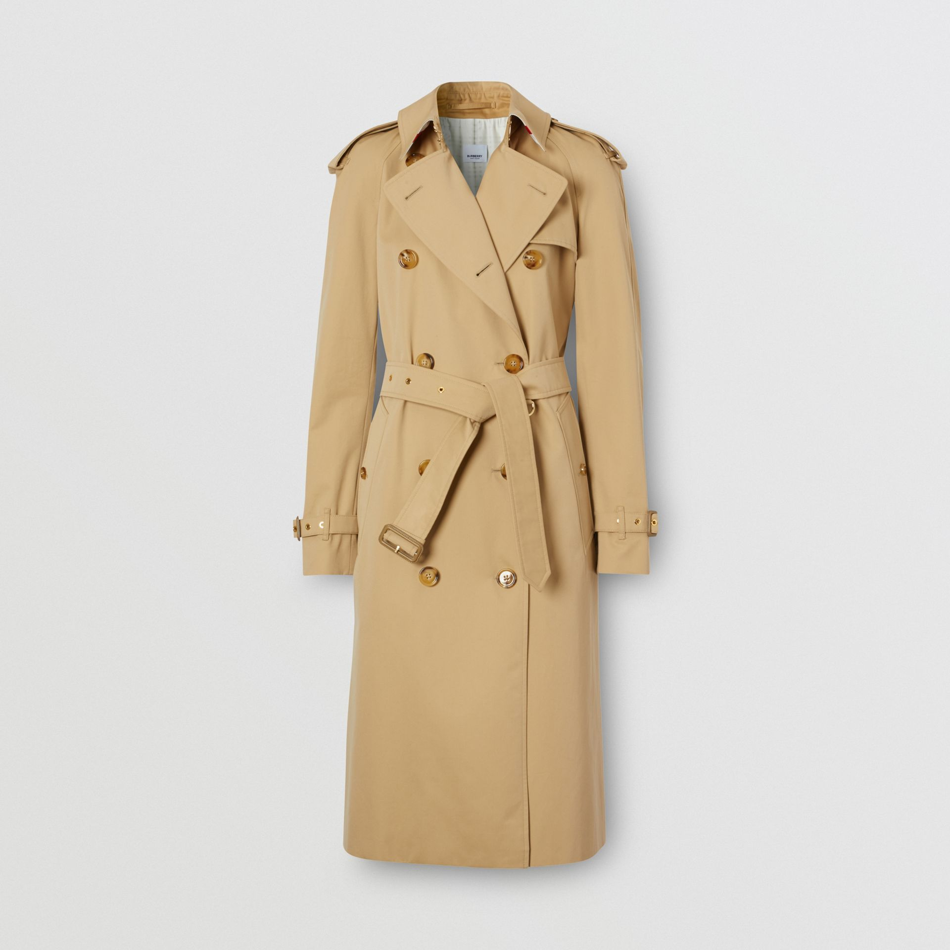Archive Scarf Print-lined Trench Coat - Women | Burberry - gallery image 3
