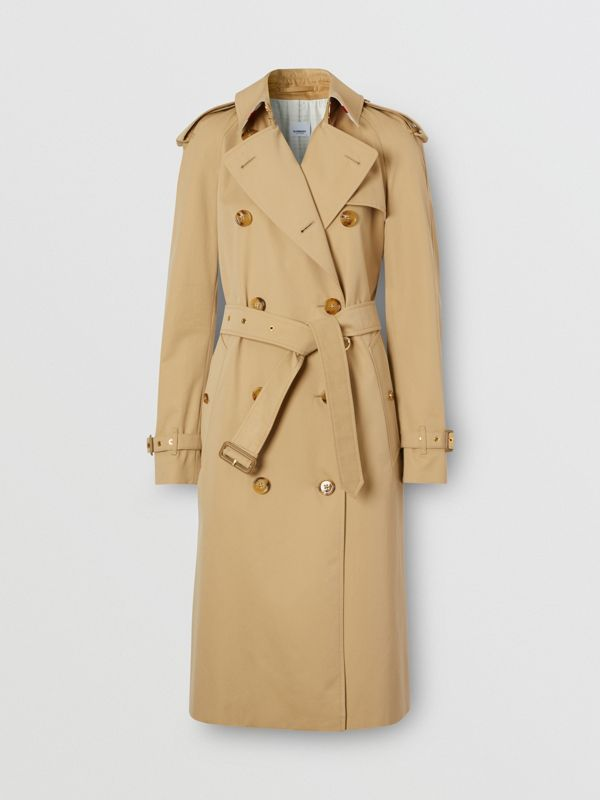 Archive Scarf Print-lined Trench Coat - Women | Burberry - cell image 3