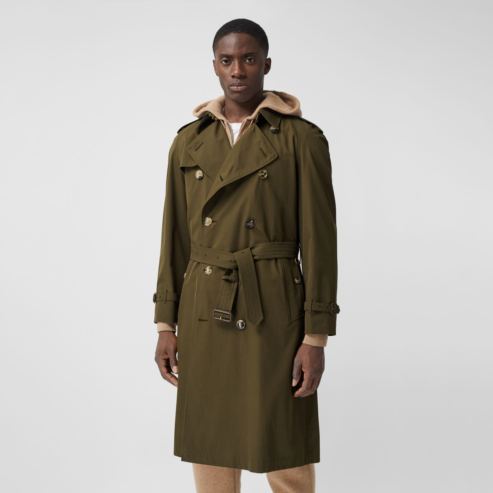 The Westminster Heritage Trench Coat in Dark Military Khaki - Men | Burberry Hong Kong S.A.R. - gallery image 7