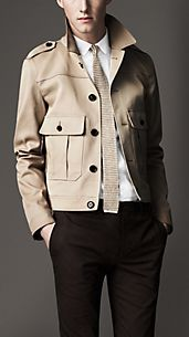 Military Pocket Cotton Blouson