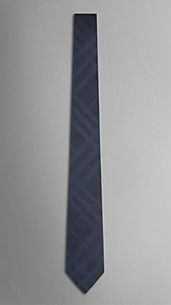 Check Dot Silk Tie