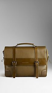 London Leather Briefcase