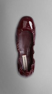 Patent Leather Ballerinas