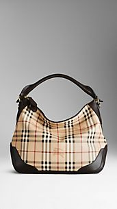 Small Haymarket Check Hobo Bag