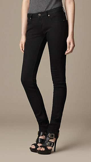 Kensington Black Slim Fit Jeans
