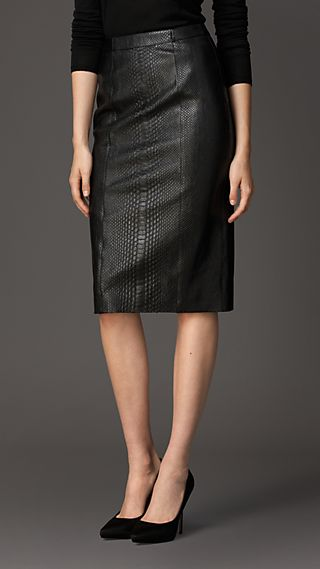 Python Pencil Skirt