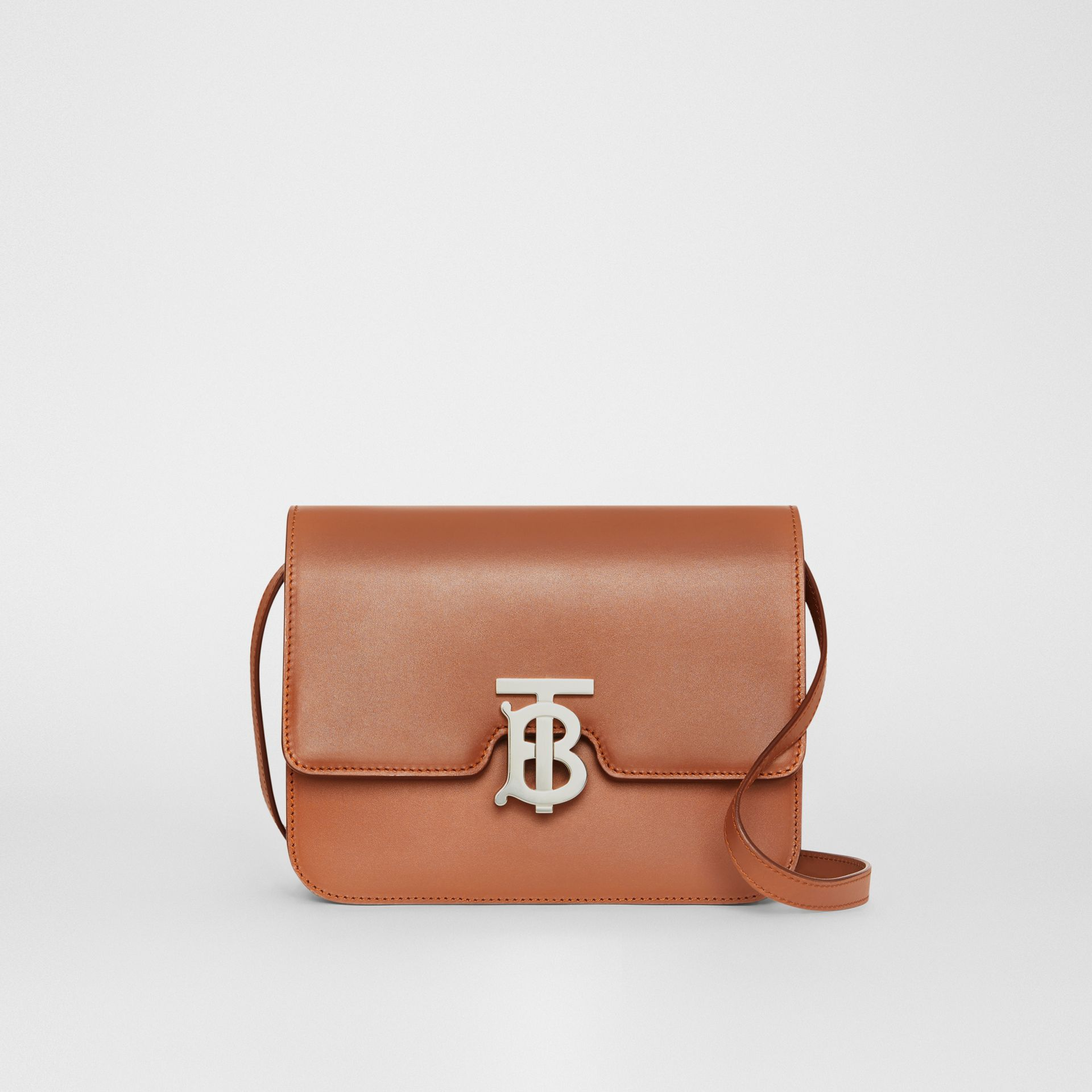 Small Leather TB Bag in Malt Brown - Women | Burberry United Kingdom - gallery image 0