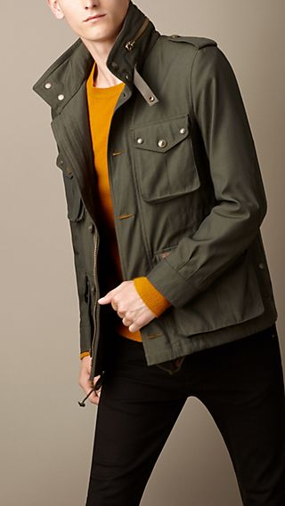 Technical Canvas Field Jacket