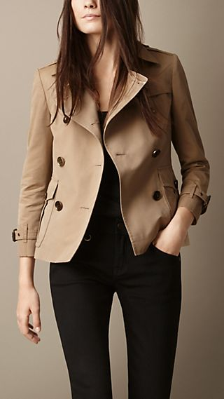 Tailored Trench Jacket