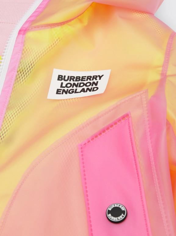 ロゴプリント ライトウェイト フーデッドジャケット (ラズベリーピンク)   バーバリー - cell image 1