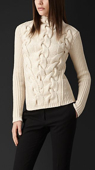 Oversize Cable Sweater