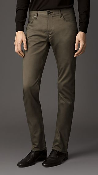 Steadman Dyed Twill Slim Fit Jeans