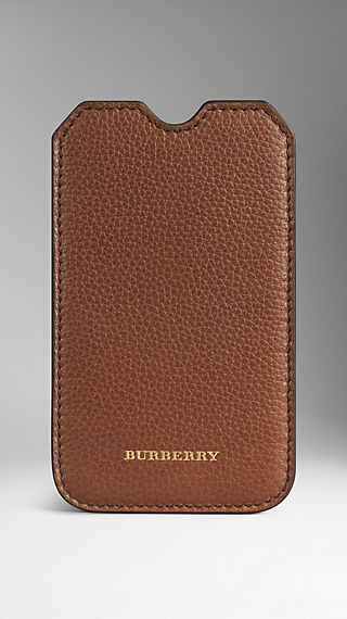Grainy Leather iPhone 5/5S Case