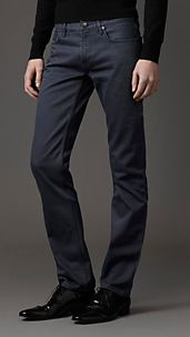 Steadman Blue Rinse Slim Fit Jeans