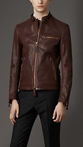 Buffalo Leather Racing Jacket