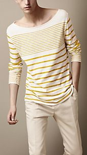 Irregular Stripe Top