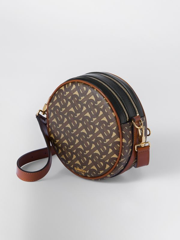 Monogram Print E-canvas Louise Bag in Bridle Brown - Women | Burberry United Kingdom - cell image 2