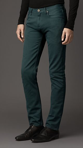Shoreditch Dyed Selvedge Skinny Fit Jeans