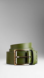Utility Leather Belt