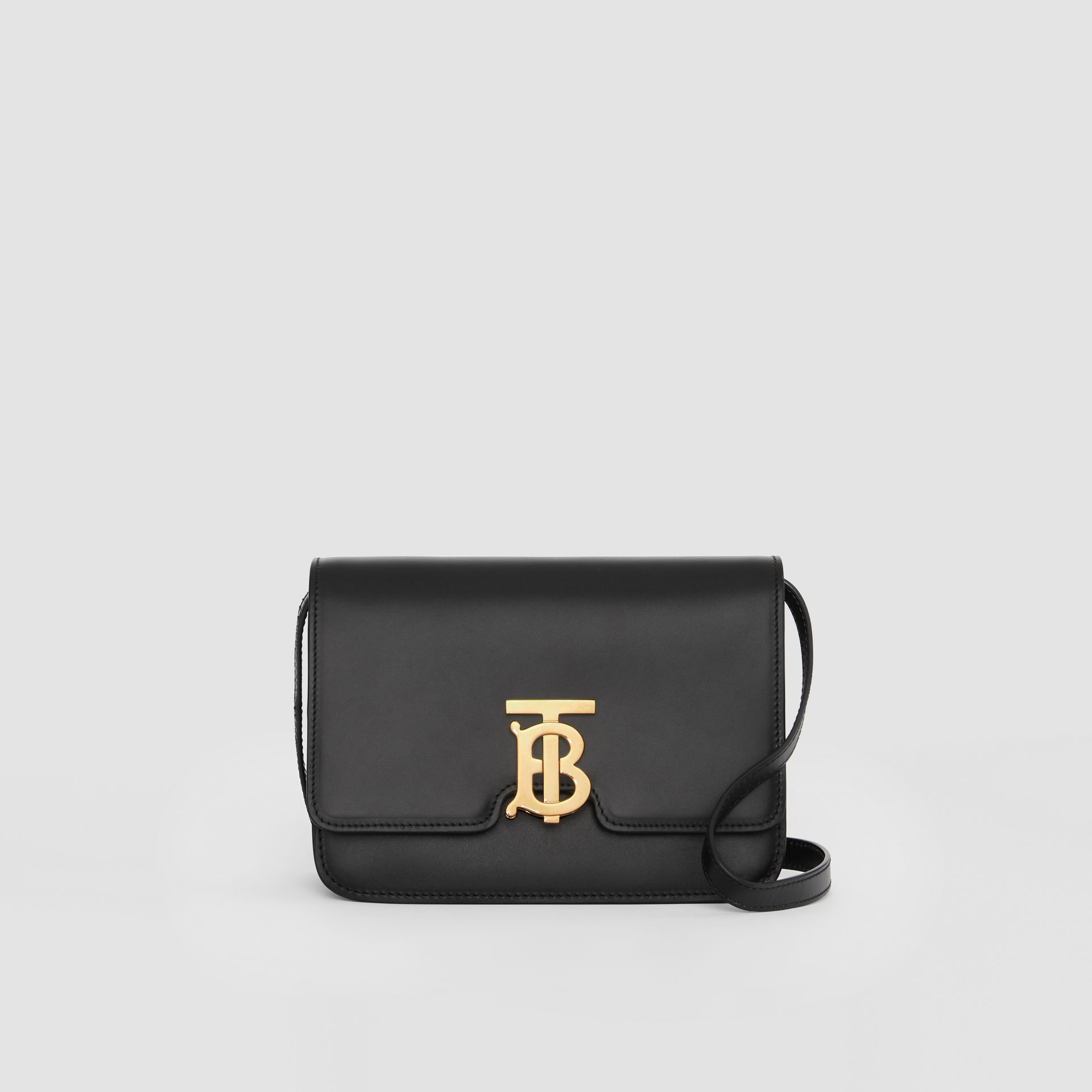 Small Leather TB Bag in Black - Women | Burberry Hong Kong S.A.R. - gallery image 0