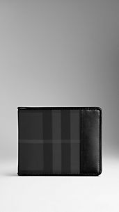Charcoal Check ID Wallet
