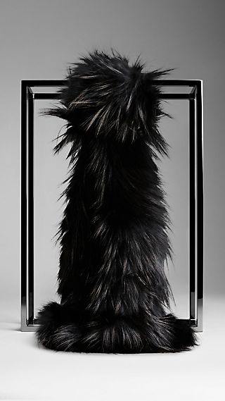 Schal aus Fuchspelz