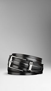 Sartorial Leather Belt