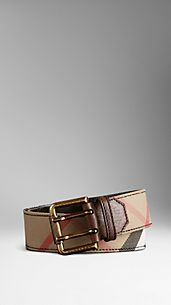 Double Prong Leather Belt