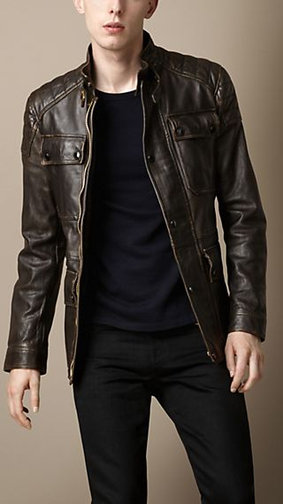Leather Heritage Biker Jacket