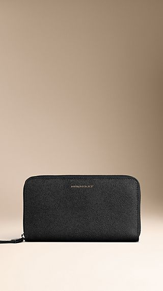 Sartorial Leather Ziparound Wallet