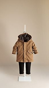 Detachable Warmer Parka