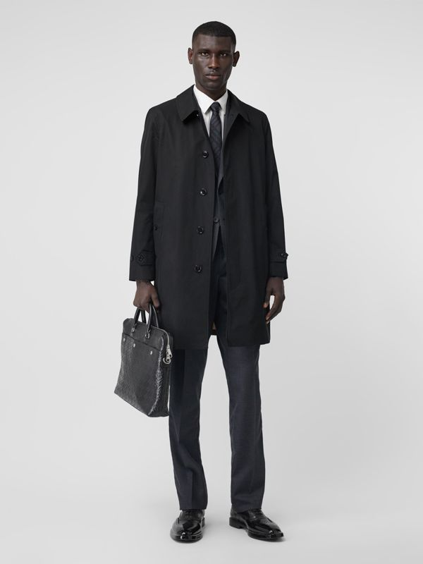 The Pimlico Heritage Car Coat in Black - Men | Burberry Hong Kong S.A.R. - cell image 2