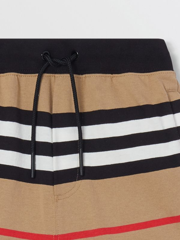 Icon Stripe Cotton Trackpants | Burberry United Kingdom - cell image 3