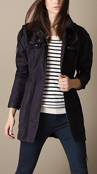 Lightweight Slim Fit Parka