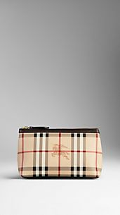 Medium Haymarket Check Cosmetics Case