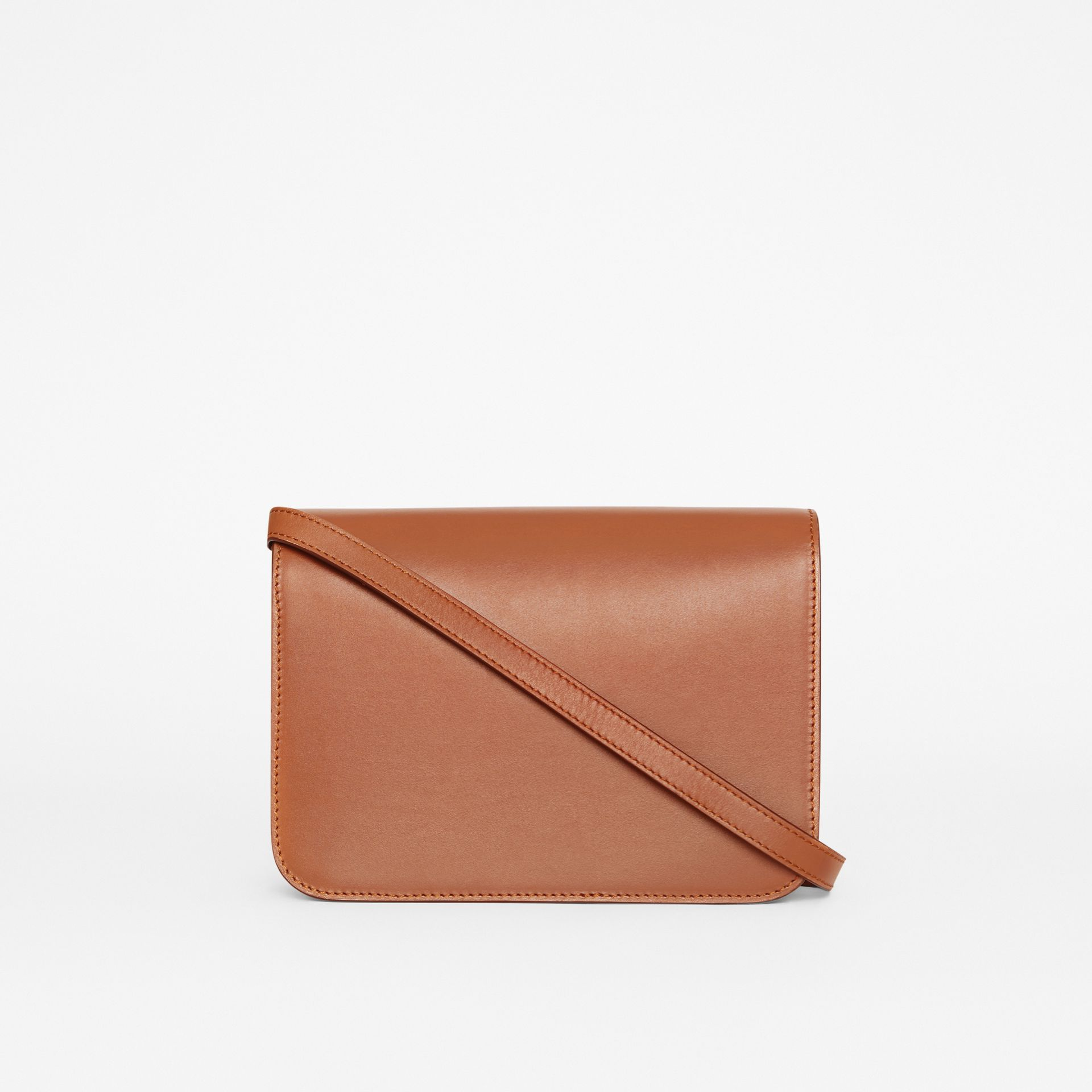 Small Leather TB Bag in Malt Brown - Women | Burberry United Kingdom - gallery image 7