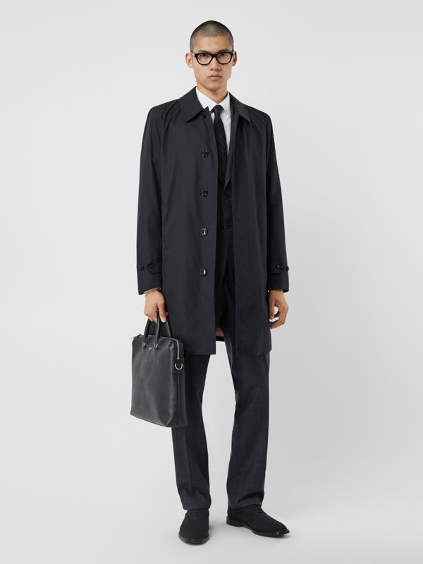 The Pimlico Heritage Car Coat in Midnight - Men | Burberry - cell image 2