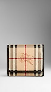 Haymarket Check Folding Wallet
