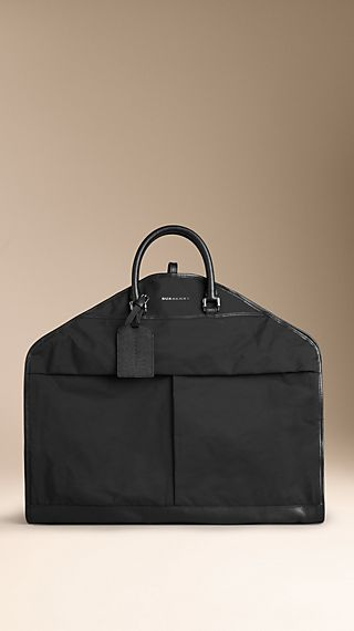 Leather Detail Garment Carrier