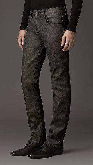 Steadman Brown Slim Fit Jeans